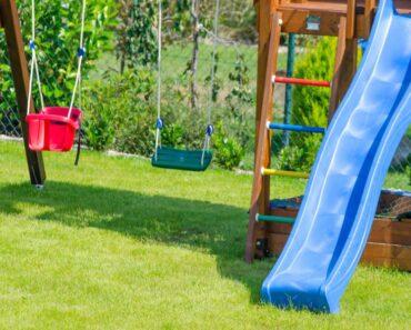 Sådan kan du indrette haven til billige priser med legehus og gynger